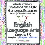 Common Core English Language Arts FREE Back-to-School ebook: Grades 3-5