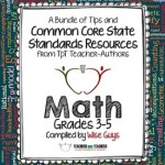 Common Core Math FREE Back-to-School ebook: Grades 3-5