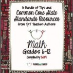 Common Core Math FREE Back-to-School ebook: Grades 6-12