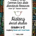 Common Core Social Studies FREE Back-to-School ebook: Grades 6-12