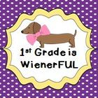 1st Grade is WienerFUL: Thanks for November Milestone Achievers