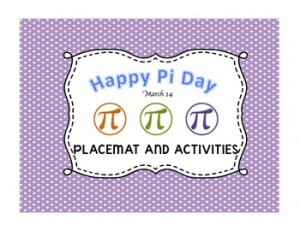 Teaching High School Math: Celebrate Pi Day
