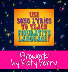 """Firework"" by Katy Perry Song Lyrics Poetry Terms Figurative Language"