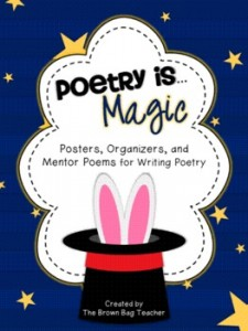 Poetry is Magic: Posters, Organizers, and Mentor Poems
