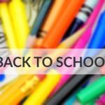 First Week Back-to-School Essentials