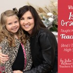 What a 1st Grader Taught Me about Teaching  (And I Teach High School)