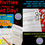 Following Up Field Day: Language Arts Activities! {FREEBIES included!}