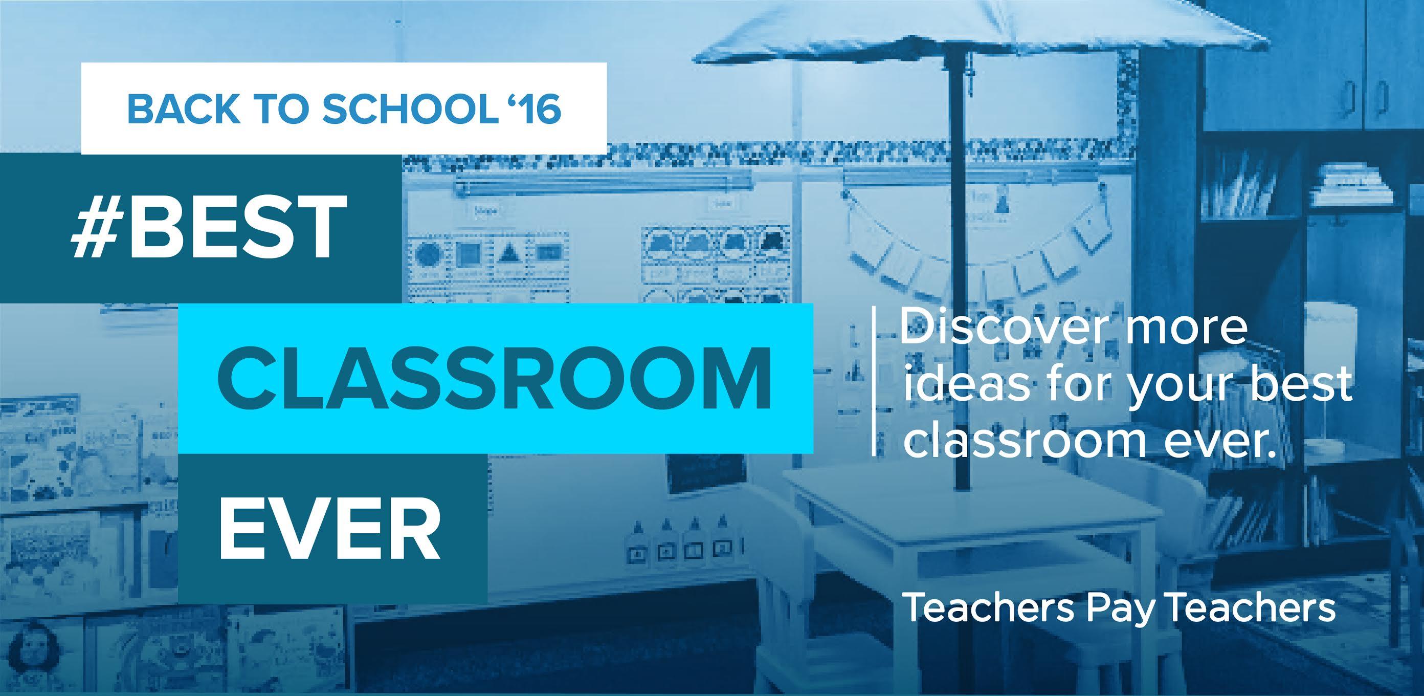 #BestClassroomEver