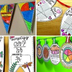 How to Show Off Student Work Using Math Pennants