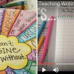 Teaching Writing: The 4-1-1 (Video Post!)