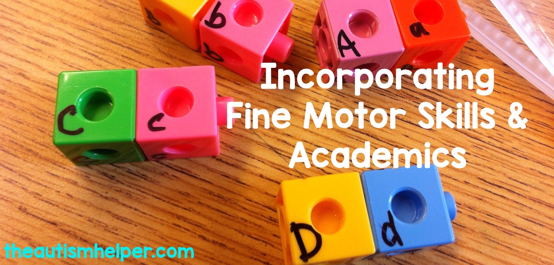 Incorporate fine motor skills into academic learning for your special education students —because who has enough time to focus on just one skill at a time?
