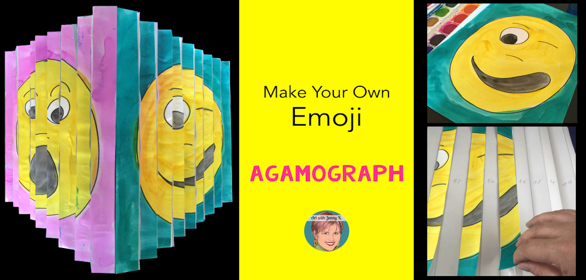 how to make your own emoji agamograph  video tutorial