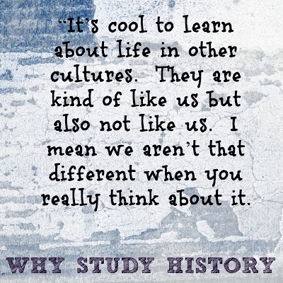 a study on why we study history History is the study of the past but it is capable of shaping the present history helps students know where we come from, how the past has shaped us, and how we can shape the future.