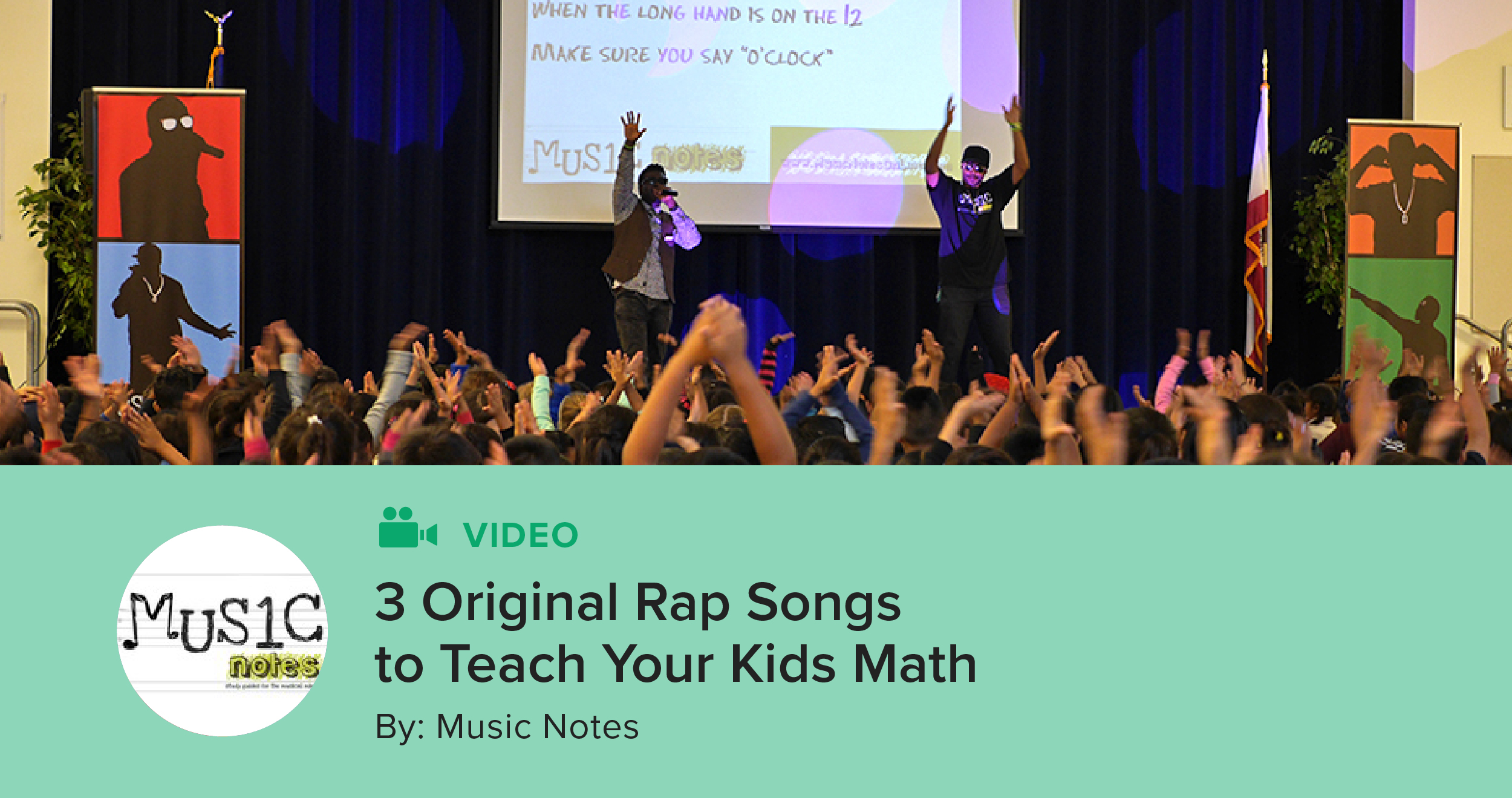 3 Original Rap Songs to Teach Your Kids Math | The TpT Blog