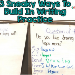 How To Fit Extra Writing Practice Into Your Special Ed. Program