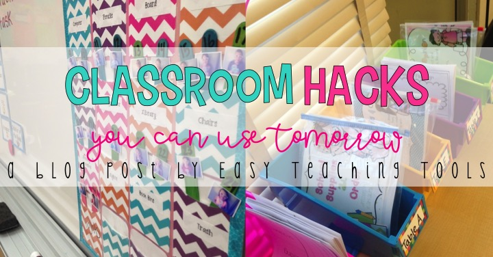 Classroom Design Hacks ~ Classroom hacks you can use tomorrow the tpt