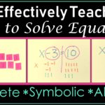 Make Equations Make Sense for Your Students: Here's How