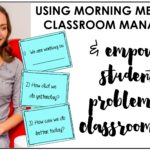 Using a Morning Meeting for Classroom Management